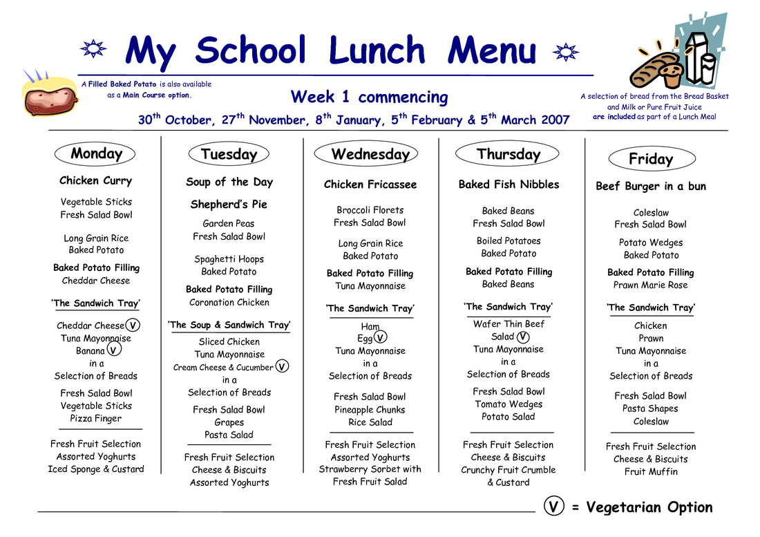 free school lunch menu templates - cafeteria menu miss ditty 39 s classroom